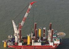 London Array Wind Farm – 175 Siemens 3.6 MW – 2011 -2012