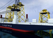 LOGIMA finder nye løsninger til installation og servicering af offshore vindmølleparker