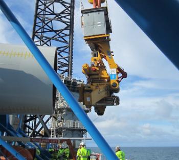 Sand Bank Offshore Wind Farm – 72 Siemens 4.0 MW – 2015-2016